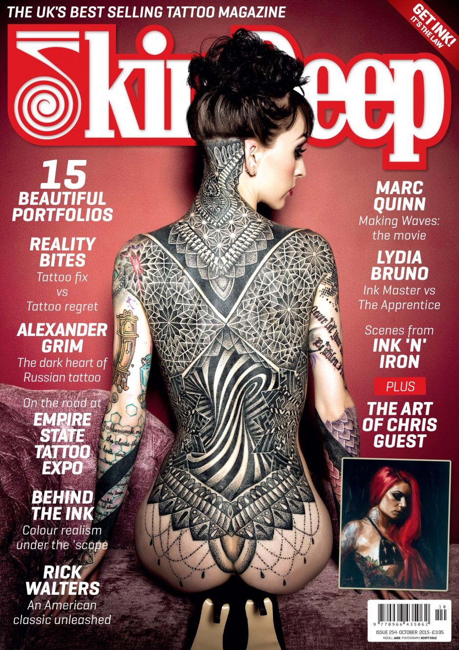 skin deep 254 tattoo magazine skin deep